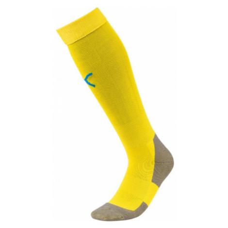 Puma TEAM LIGA SOCKS yellow - Men's football socks