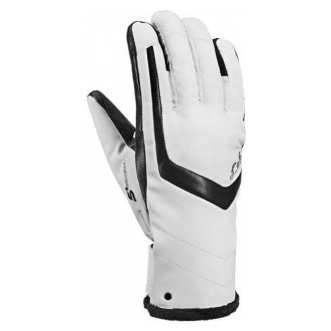 Leki STELLA S LADY TRIGGERS white - Women's downhill ski gloves