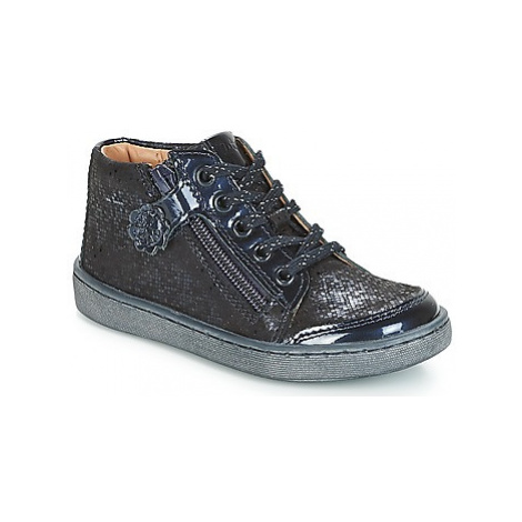 Aster SOUZI girls's Children's Shoes (High-top Trainers) in Blue