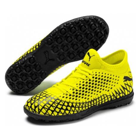 Puma FUTURE 4.4 TT JR yellow - Boys' football boots