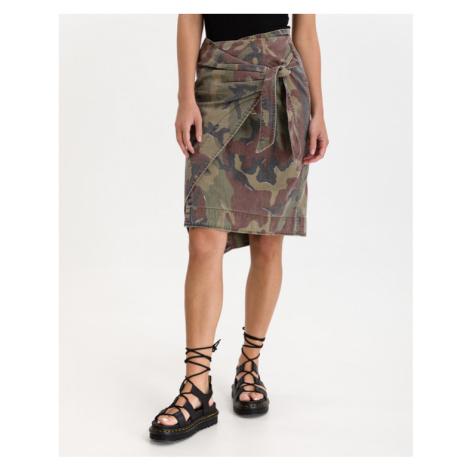 Replay Skirt Green Brown