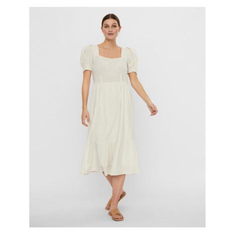 Vero Moda Idiris Dress White