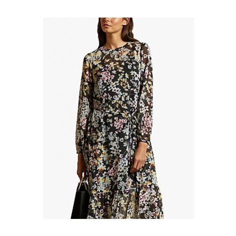 Ted Baker Rishika Floral Maxi Dress, Black