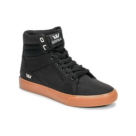 Supra ALUMINIUM men's Shoes (High-top Trainers) in Black
