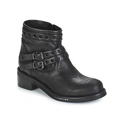 Mimmu MAIRON women's Mid Boots in Black