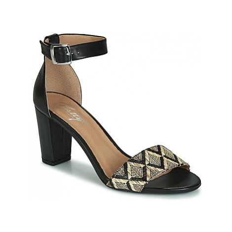 Betty London CRETOLIA women's Sandals in Black