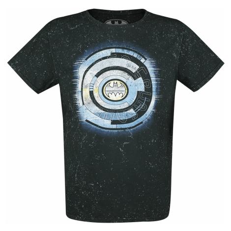 Batman - Tech Logo - T-Shirt - blue-grey