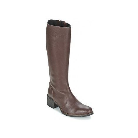 Betty London IRMA women's High Boots in Brown
