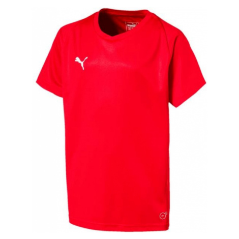 Puma LIGA JERSEY CORE JR red - Children's T-shirt