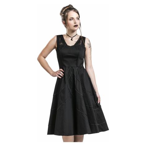 H&R London - Braided Raven Dress - Dress - black