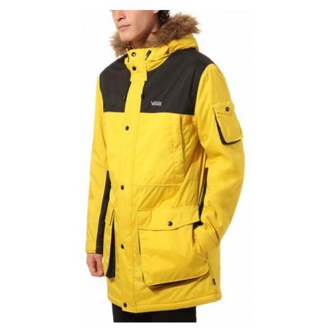Vans MN SHOLES MTE yellow - Men's winter parka