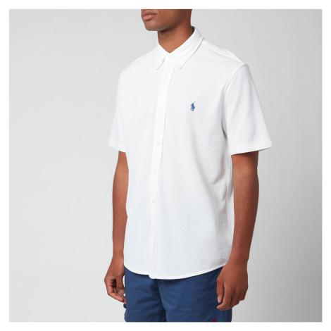 Polo Ralph Lauren Men's Featherweight Mesh Short Sleeve Shirt - White