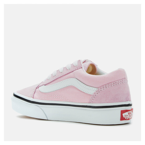 Vans Kids' Old Skool Trainers - Lilac Snow/True White - UK Kids