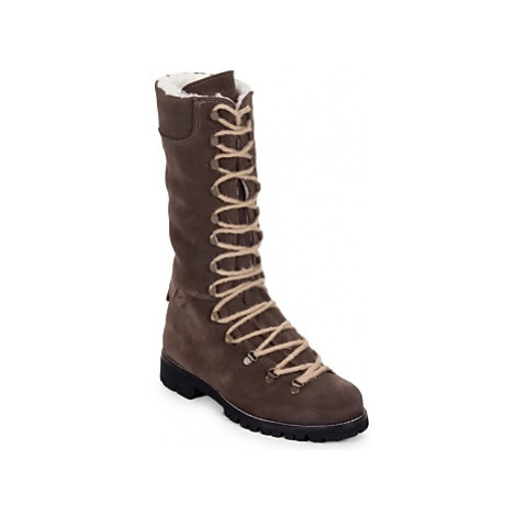 Swamp STIVALE LACCI MONTONE women's Mid Boots in Brown
