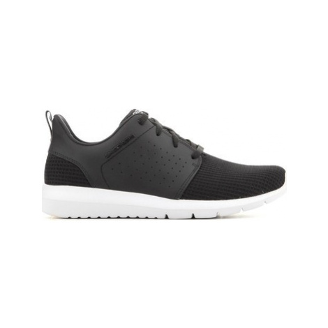 Skechers Foreflex 52390-BKW men's Shoes (Trainers) in Black