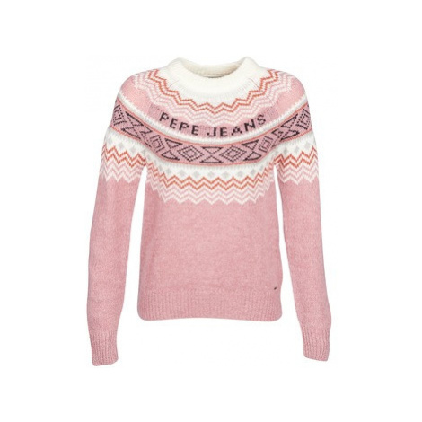 Pepe jeans ALINA women's Sweater in Pink