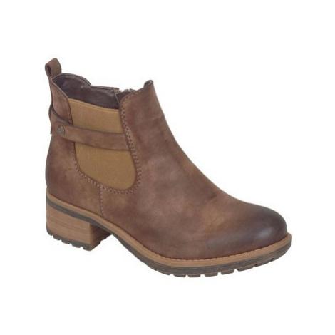 Rieker Jonty Womens Casual Boots women's Low Ankle Boots in Brown