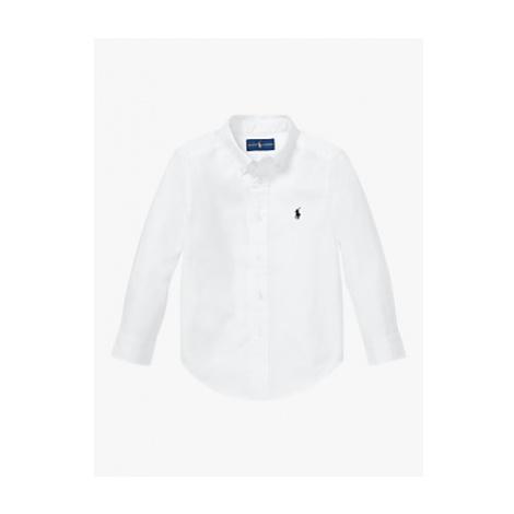 Polo Ralph Lauren Boys' Shirt, White