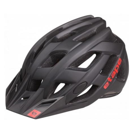 Etape ESCAPE black - Men's cycling helmet