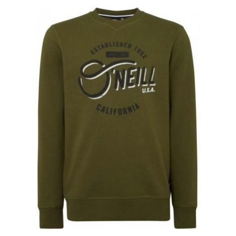 O'Neill LM MUGU CALI CREW dark green - Men's sweatshirt