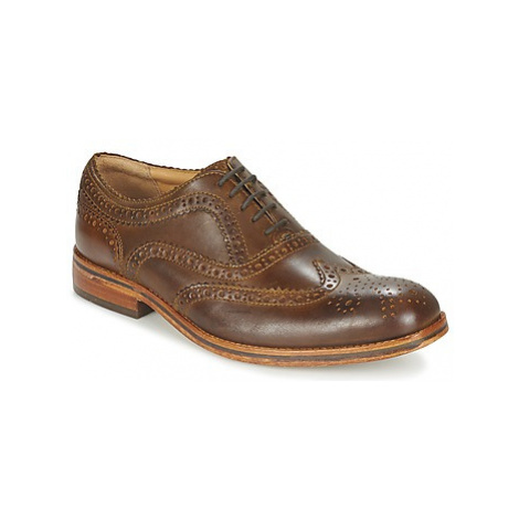 Hudson KEATING CALF men's Casual Shoes in Brown Hudson London