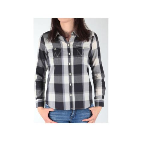 Wrangler L/S Western Shirt W50454MBU women's Shirt in Multicolour