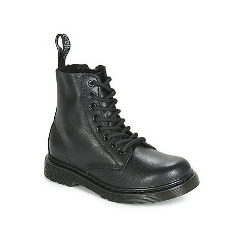 Dr Martens 1461 Pascal Mono J girls's Children's Mid Boots in Black