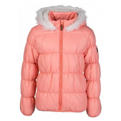 Lewro ESTER orange - Girls' quilted jacket