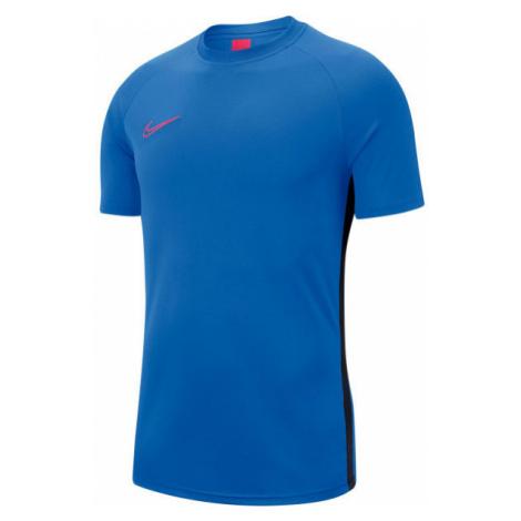 Nike DRY ACDMY TOP SS M blue - Men's football T-shirt