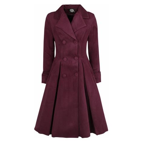 H&R London - Eleanor Swing Coat - Girls coat - burgundy