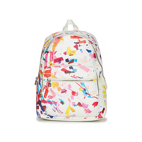 Desigual CONFETTI LIMA women's Backpack in White