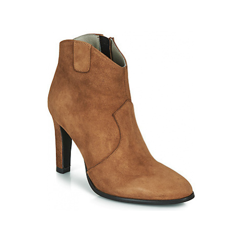 Myma PATINA women's Low Ankle Boots in Brown