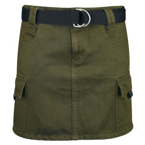 Fashion Victim - Army Skirt - Skirt - olive