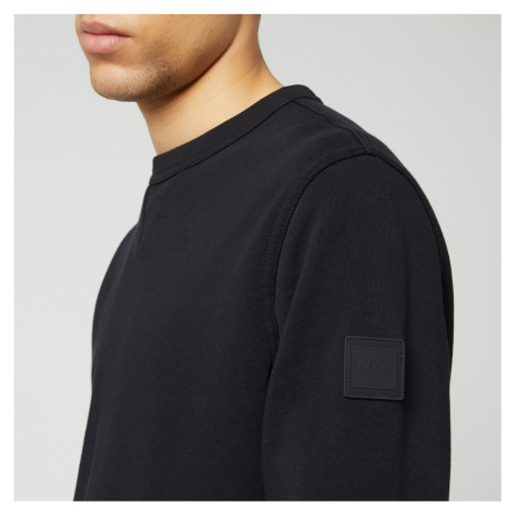 BOSS Men's Walkup Sweatshirt - Black Hugo Boss