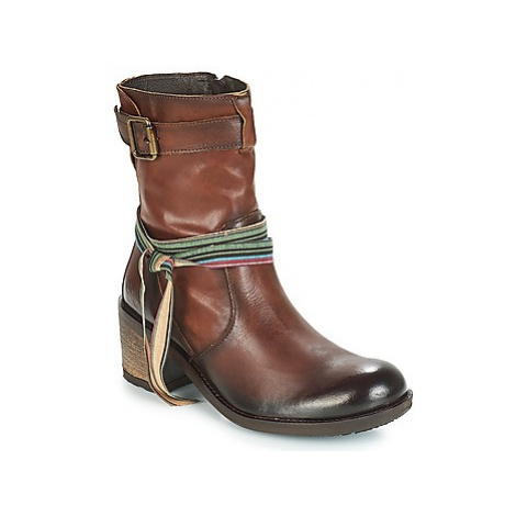 Felmini URRACO women's Low Ankle Boots in Brown