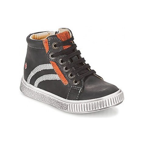 GBB NESTOR boys's Children's Shoes (High-top Trainers) in Black