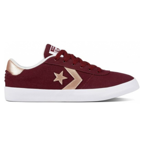 Converse POINT STAR red wine - Women's low-top sneakers