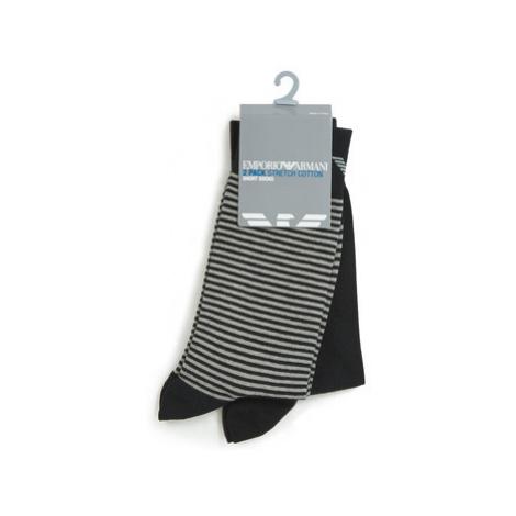 Emporio Armani CC114-302302-00020 men's Stockings in Black