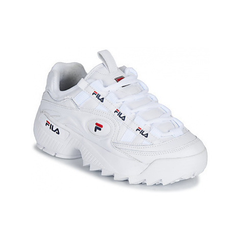 Fila D FORMATION WMN women's Shoes (Trainers) in White