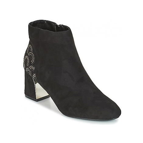 Moony Mood JASMINA women's Low Ankle Boots in Black