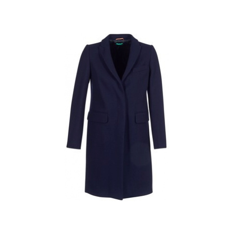 Benetton MANO women's Coat in Blue United Colors of Benetton