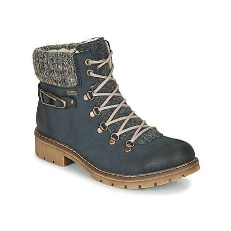 Rieker Y9131-16 women's Mid Boots in Blue