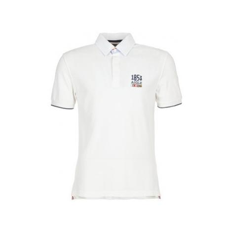 Aigle STAIRSEA men's Polo shirt in White