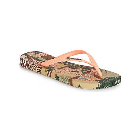 Ipanema SUMMER II women's Flip flops / Sandals (Shoes) in Beige