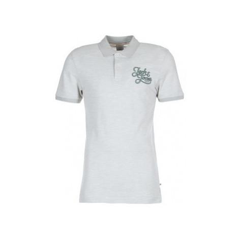 Jack Jones JORNEW AUTHENTIC men's Polo shirt in White Jack & Jones