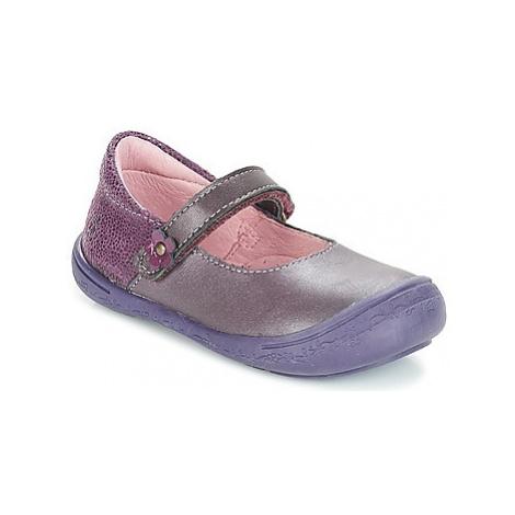 Citrouille et Compagnie JITSONBU girls's Children's Shoes (Pumps / Ballerinas) in Purple