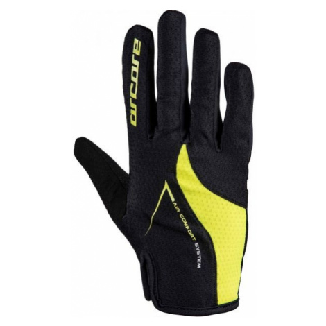 Arcore HIVE yellow - Long finger cycling gloves