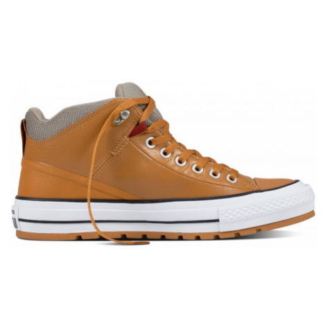 Converse CHUCK TAYLOR ALL STAR STREET BOOT brown - Men's sneakers