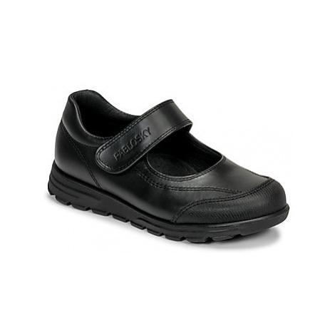 Pablosky 334310 girls's Children's Shoes (Pumps / Ballerinas) in Black