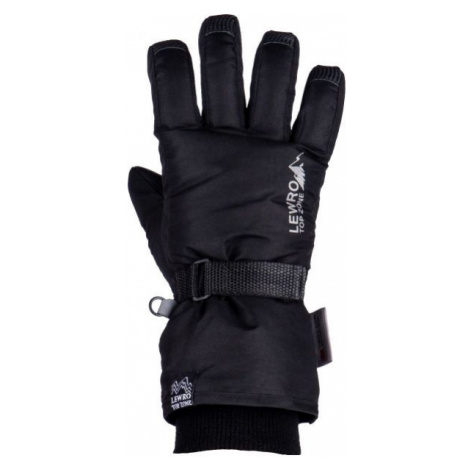 Lewro PRIMO black - Children's ski gloves